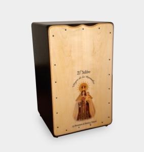Personalizacion de caja flamenca torero