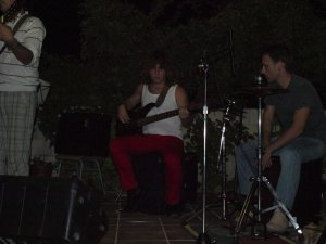 Percusionista Jose Manuel Sanchez Benitez