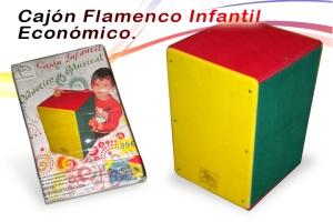 cajon flamenco infantil economico torero percusion
